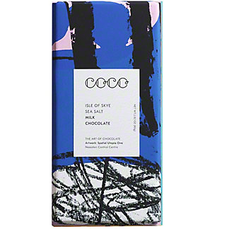 Coco Chocolatier Isle Of Skye Sea Salt Milk, 80 g