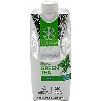 Gaiam Green Tea RTD Mint, 16.9 oz