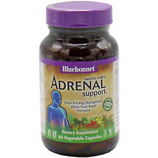 Bluebonnet Targeted Choice Adrenal Support, 60 CT