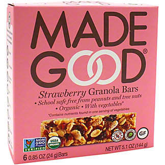 Made Good Strawberry Granola , 5.1 oz