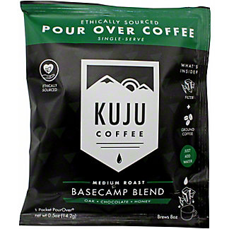 Kuju Coffee Basecamp Blend Pocket Pour Over, 1 ct