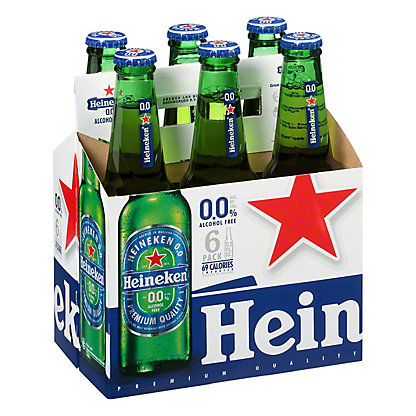 Heineken 0.0% Alcohol Free Beer 11.2 oz Bottles, 6 pk