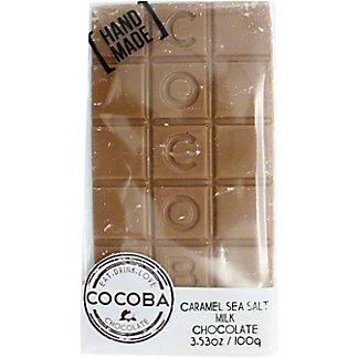 Cocoba Caramel Seasalt Milk Chocolate, 100 g