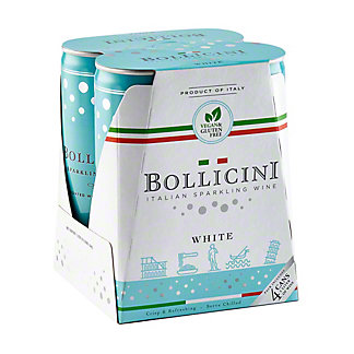 Bollicini Sparkling Cuvee 250 mL Cans, 4 pk