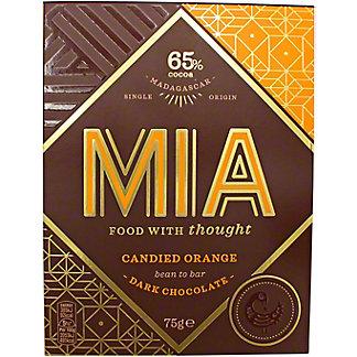 Mia Candied Orange 65% Dark, 75 G
