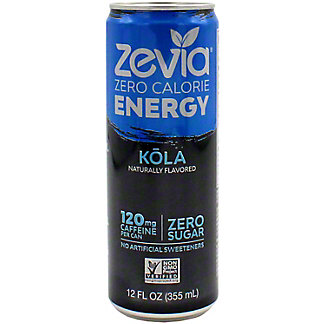 Zevia Energy Kola, 12 oz