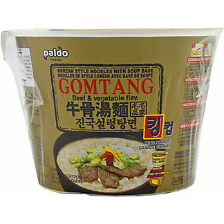 Paldo  Beef & Vegetable King Cup, 105 GR