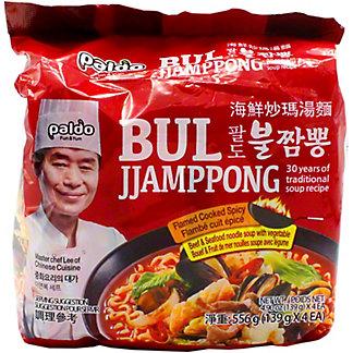 Paldo Bul Jjamppong - Spicy Seafood, 4 ct