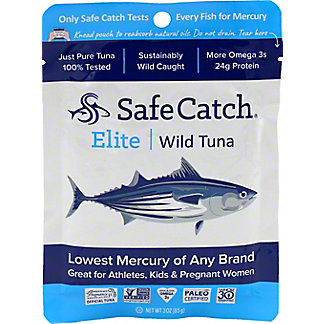 Safe Catch Tuna Wild Elite Pouch - Single, 3 oz