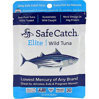 Safe Catch Tuna Wild Elite Pouch - Single, 3 oz