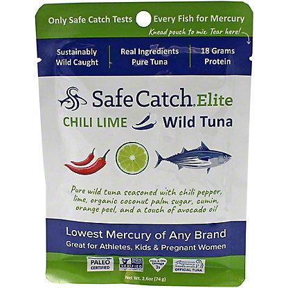 Safe Catch Tuna Wild Elite - Chili Lime, 2.6 oz