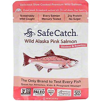 Safe Catch Wild Alaskan Pink Salmon, 3 OZ