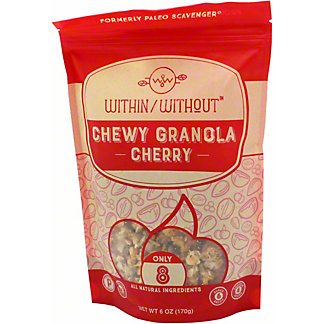 Within Without Cherry Granola, 6 oz