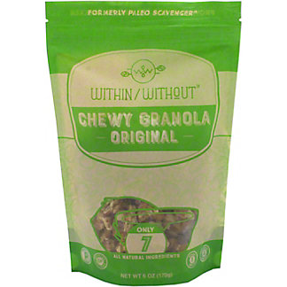 Within Without Original Granola, 6 oz