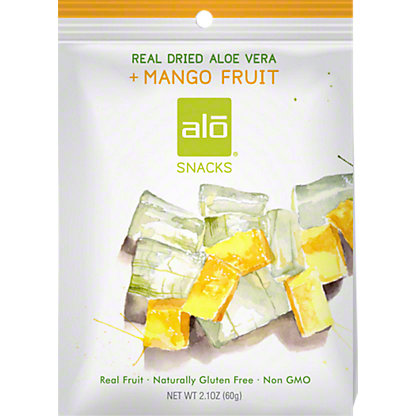 Alo Dried Fruit Aloe Mango, 2.1 oz