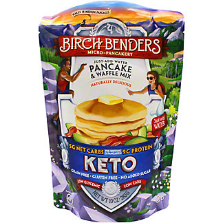 Birch Bender Keto Pancake & Waffle Mix, 10 OZ
