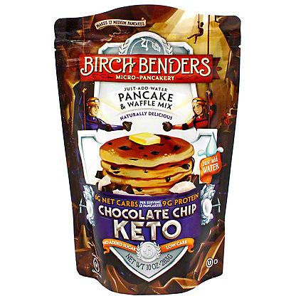 Birch Bender Keto Chocolate Chip Pancake & Waffle Mix, 10 OZ
