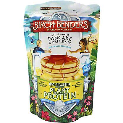 Birch Benders Plant Protein Plant Pancake & Waffle Mix, 14 OZ