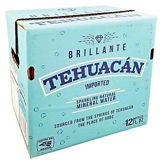 Tehuacan Sparkling Mineral Water Case 12 oz Bottles, 12 pk