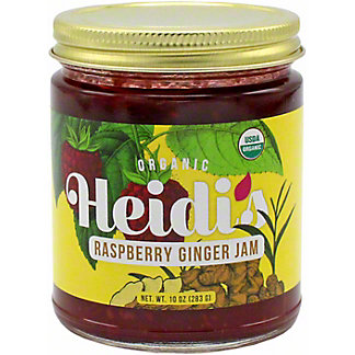 Heidi's Raspberry Ginger Jam, 10 OZ