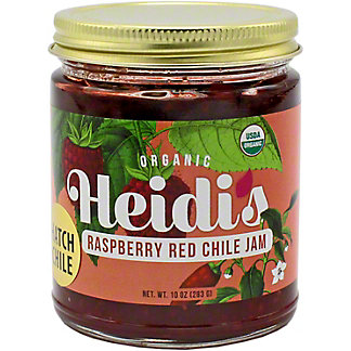 Heidi's Raspberry Red Chile Jam, 10 OZ