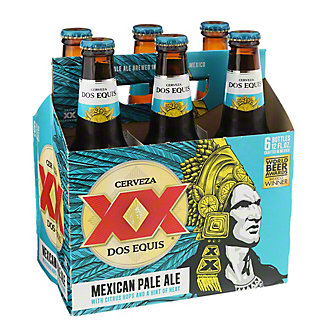 Dos Equis Mexican Pale Ale Beer 12 oz Bottles, 6 pk