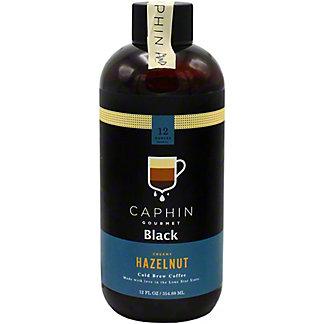 Caphin Black Creamy Hazelnut, 12 OZ
