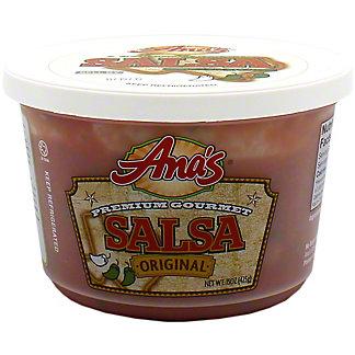 Ana's Medium Original Salsa, 15 oz