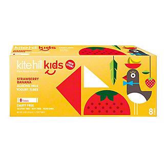 Kite Hill Yogurt Tubes Strawberry Banana, 8 ct