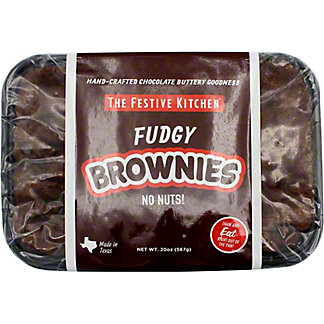 Festive Kitchen Fudgy Brownies, 20 OZ