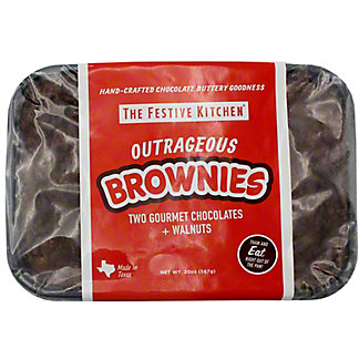 Festive Kitchen Outrageous Brownies, 20 OZ