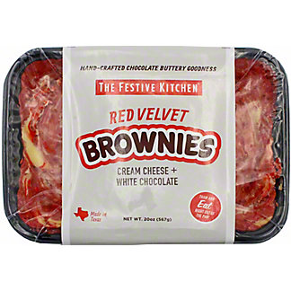 Festive Kitchen Red Velvet Brownies, 20 OZ