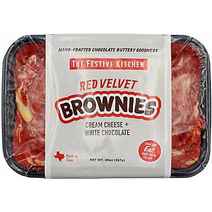 Festive Kitchen Red Velvet Brownies, 20 OZ