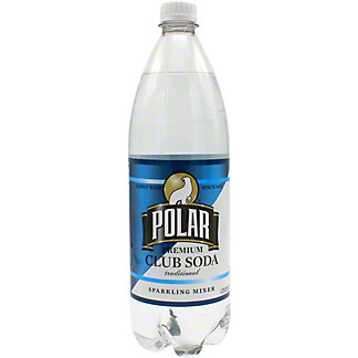 Polar Club Soda, 33.8 oz