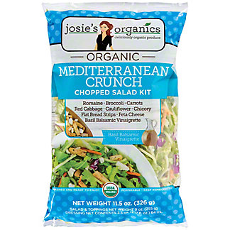 Josie's Organics Mediterranean Chop Salad Kit, 11.5 oz