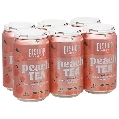 Bishop Cider Seasonal Cider, Cans, 6 pk, 12 fl oz ea