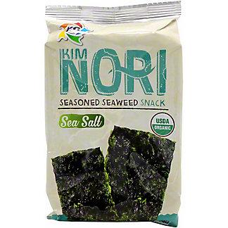 Kimnori Organic Seaweed Snack Sea Salt, 0.14 oz