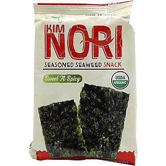 Kimnori Organic Sweet N Spicy Seaweed Snack, 0.14OZ