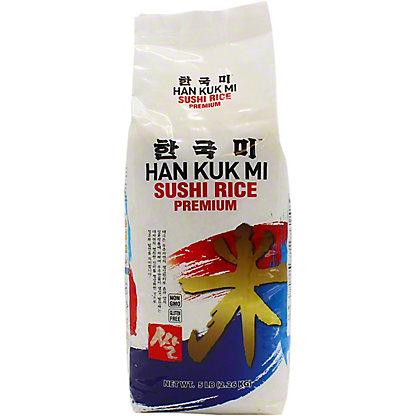 Han Kuk Mi Extra Fancy Rice - Sushi Rice, 5 lb