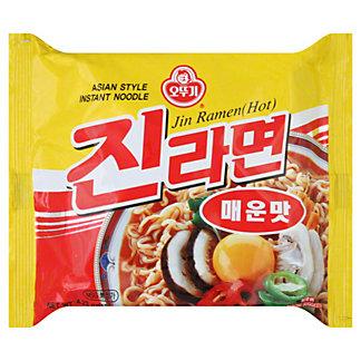 Ottogi Instant Jin Ramen Hot, 4.23 oz