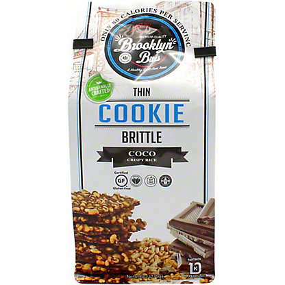 Brooklyn Bites  Coco Crispy Rice Cookie Brittle, 6 OZ