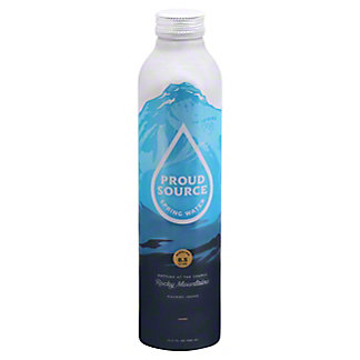 Proud Source Rocky MountainSpring Water 8.1 PH, 25.3 oz