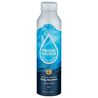 Proud Source Rocky MountainSpring Water 8.1 PH, 16 oz