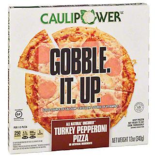 Caulipower Turkey Pepperoni Cauliflower Pizza, 12 oz