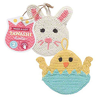 Now Designs Easter Wash-a-lot Tawashis, 2 ct