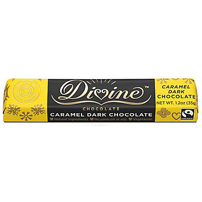 Divine Chocolate Dark Chocolate Snack Bar, 1.2 oz