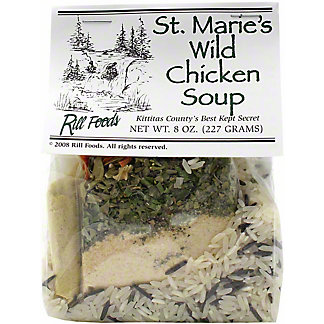 Rill Foods Soup Dry Chicken Wild Rice, 7 OZ