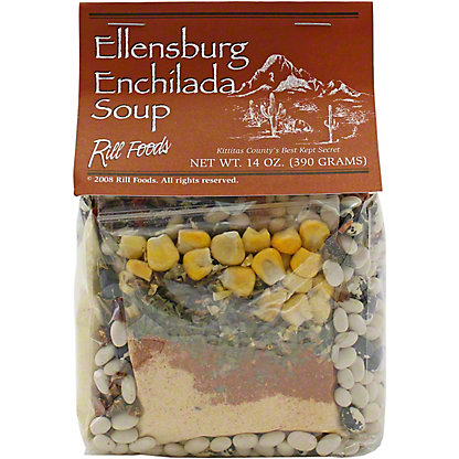 Rill Foods Soup Dry Bean Enchilada, 16 OZ