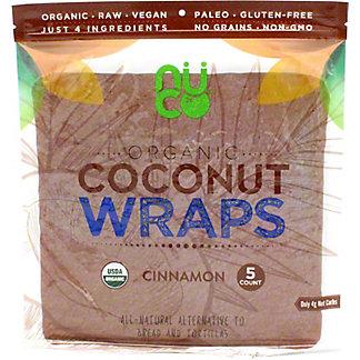 Nuco Organic Coconut Wraps Cinnamon, 2.5 OZ