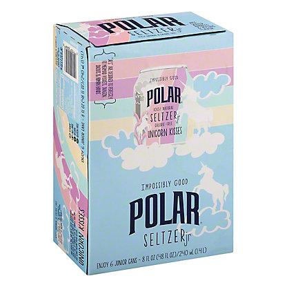 Polar Seltzer Unicorn Kissed, Cans, 6 pk, 8 fl oz